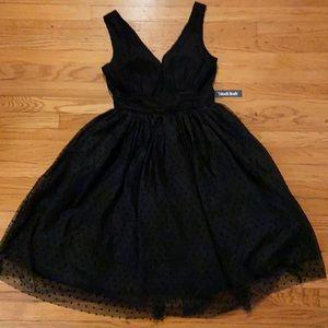 Black ModCloth Dress in size 6